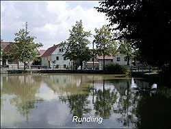 Am Teich (Rundling) in Goes